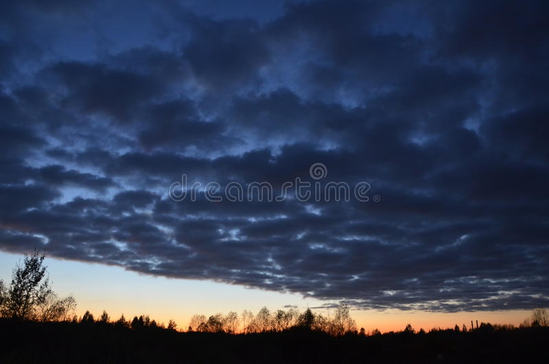 The beauty of Russian nature royalty free stock photography