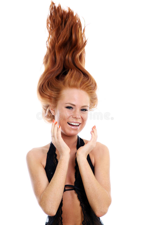 Download Beauty salon stock photo. Image of lady, long, healthy - 14358766