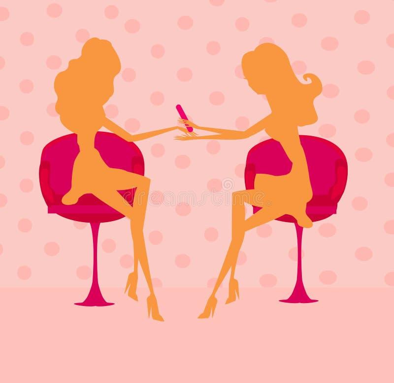 Download Beauty salon stock vector. Image of female, interior - 24280310