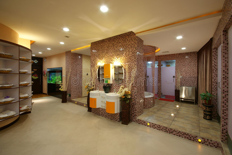 Download beauty salon decoration stock image image of clean beijing 6764205