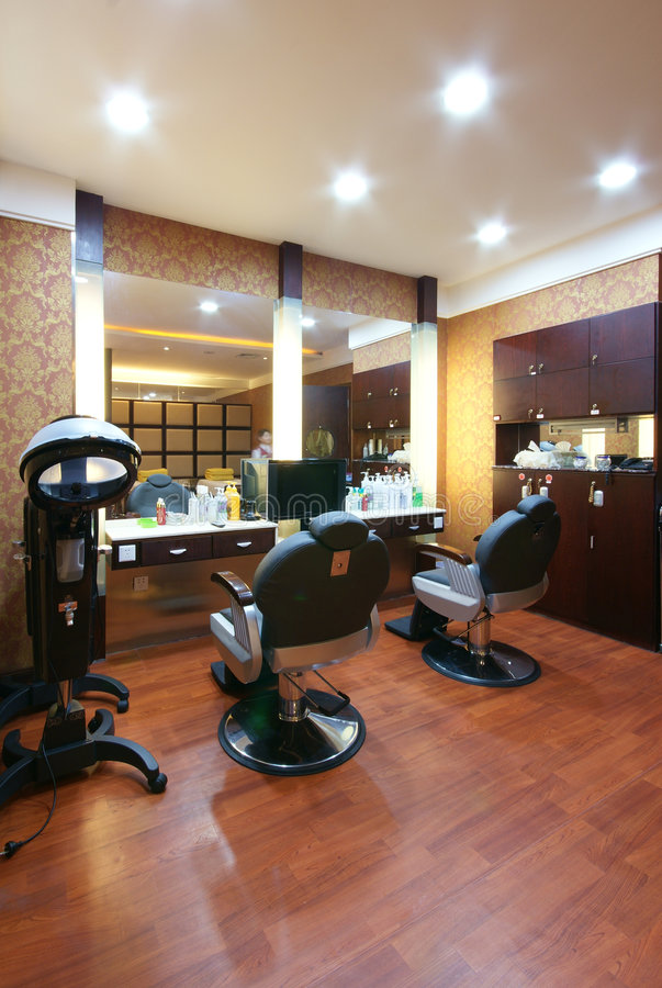 Beauty salon decoration royalty free stock photos image for Decoration de salon design