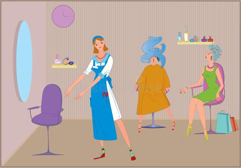 Download Beauty Salon Haircut Invitation Stock Vector - Image: 15523426