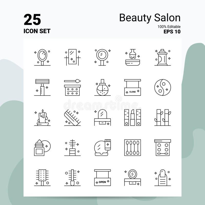 Salon Concept Logo Stock Vector. Illustration Of Care