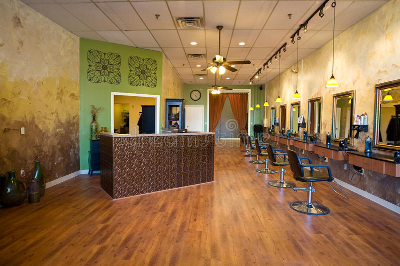 Beauty Salon Interior royalty free stock photos