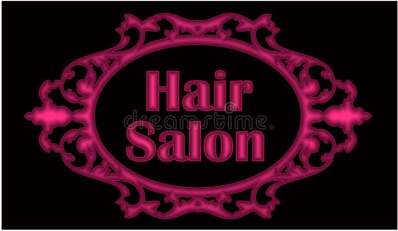 Beauty salon modern Logo royalty free illustration