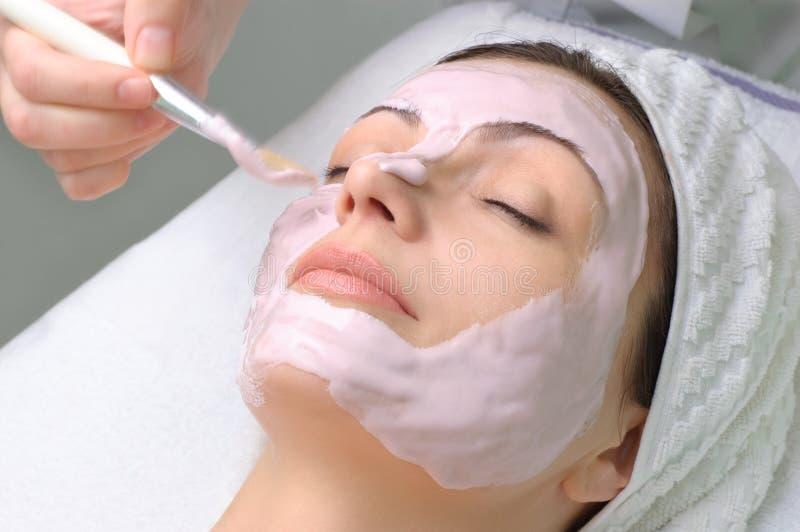 Download Beauty Salon Series, Facial Mask Stock Image - Image: 7863229