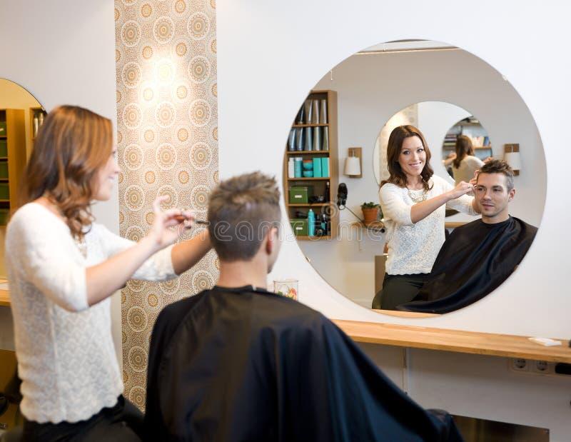 Beauty salon situation royalty free stock photo