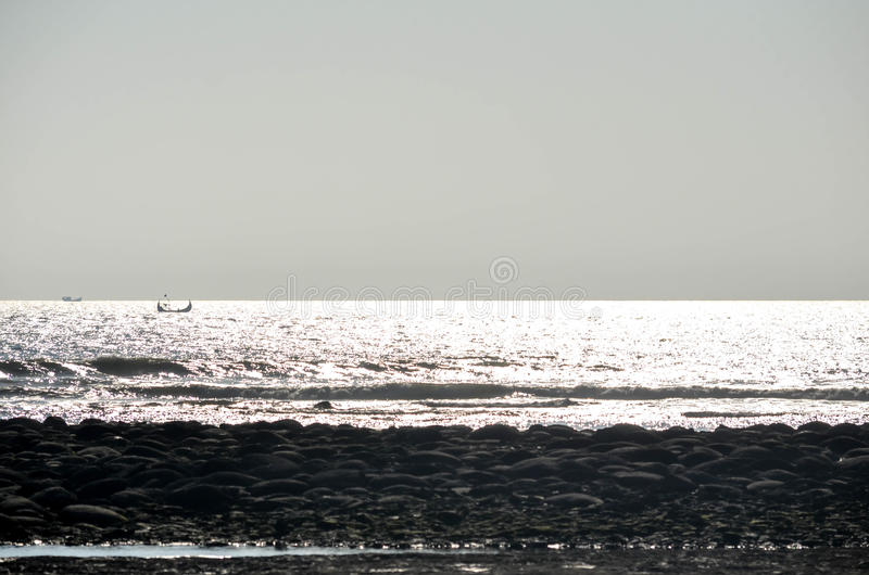 Beauty of sea. World& x27;s largest sea beach cox& x27;s bazar royalty free stock images