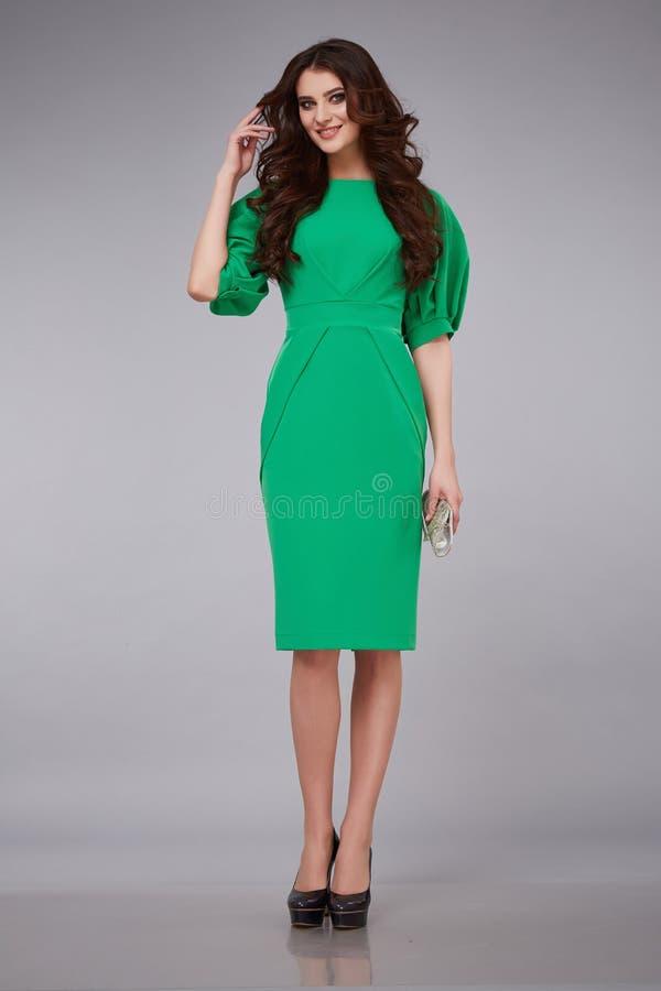 Beauty dress clothing makeup fashion style woman royalty free stock image