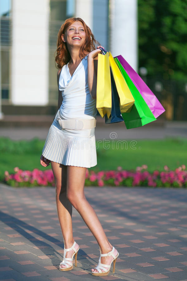 Download Beauty shopping woman stock photo. Image of consumerism - 32864640