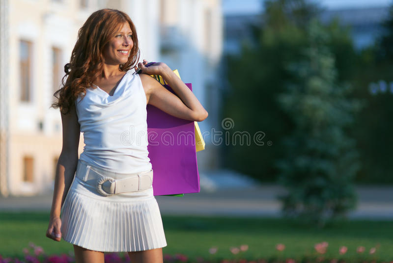 Beauty Shopping Woman Royalty Free Stock Photo
