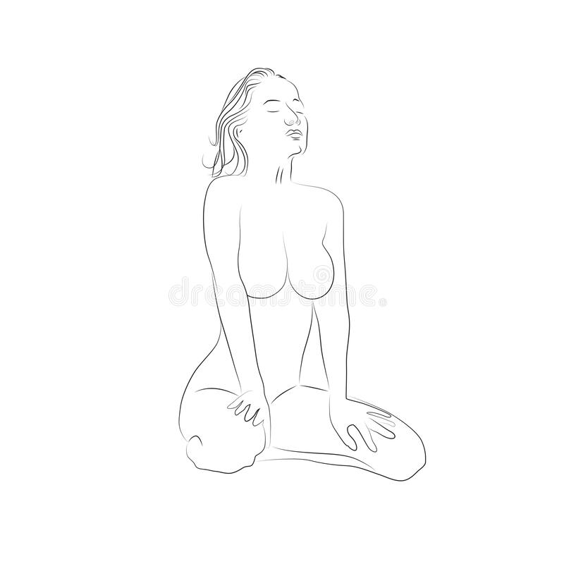 Female Body Curves Line Art Stock Illustrations 51 Female Body Curves Line Art Stock Illustrations Vectors Clipart Dreamstime