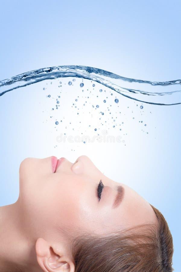 Beauty skin care concept stock photos