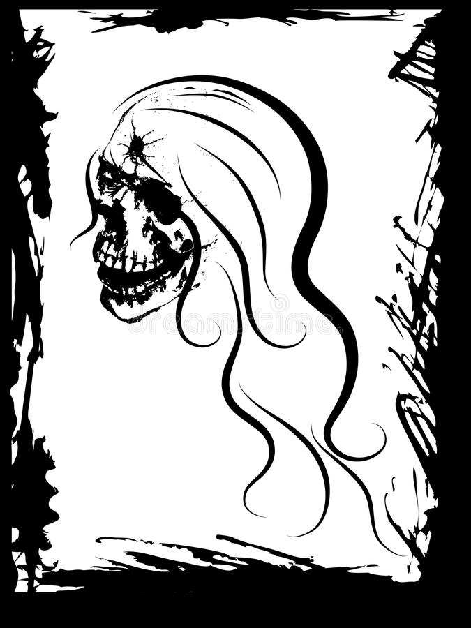 Download Beauty skull stock vector. Image of beauty, brainpan - 31637334