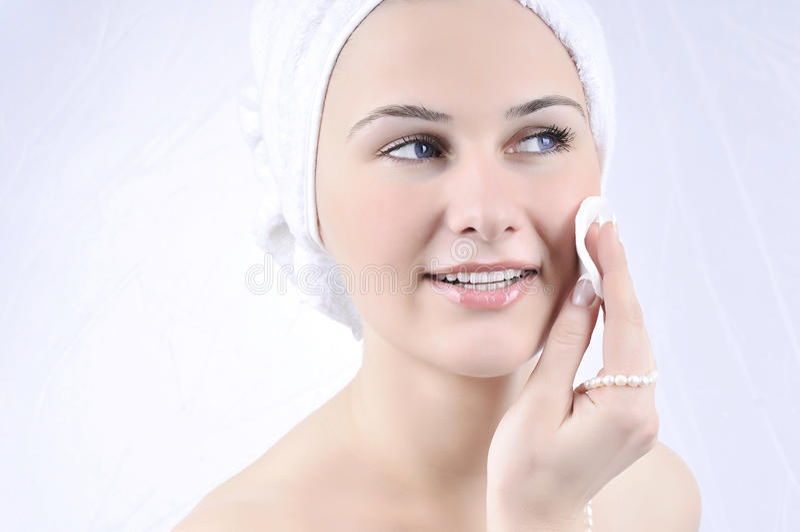 beauty spa γυναίκα επεξεργασίας στοκ εικόνες με δικαίωμα ελεύθερης χρήσης