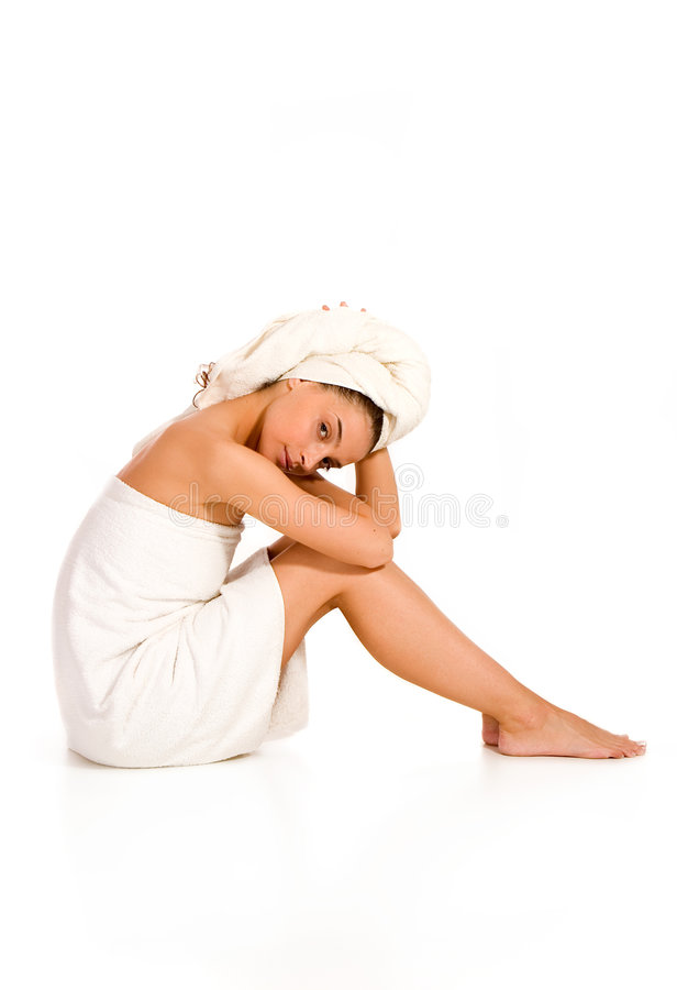 Download Beauty and Spa stock photo. Image of massage, lying, cute - 3513754