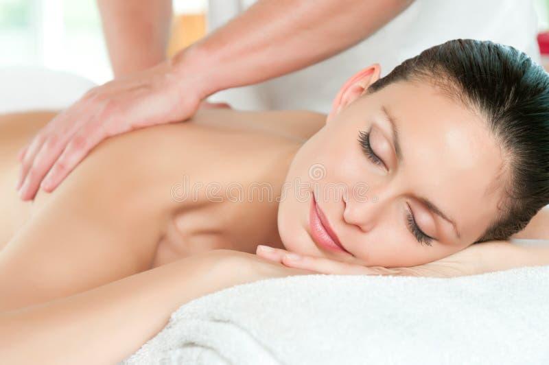 Beauty spa behandeling stock foto