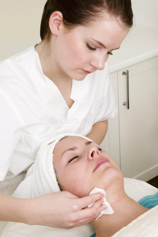 Beauty Spa Facial stock photos