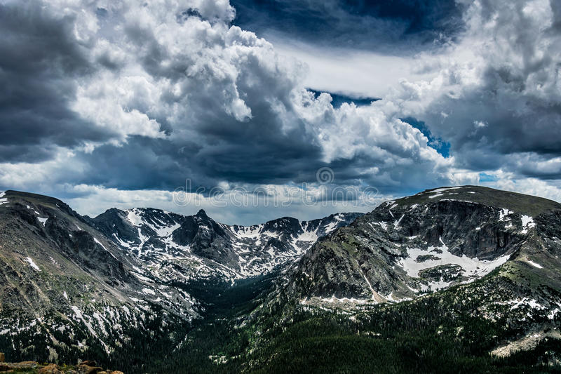 Beauty of the state of Colorado. Rocky Mountain National Park royalty free stock images