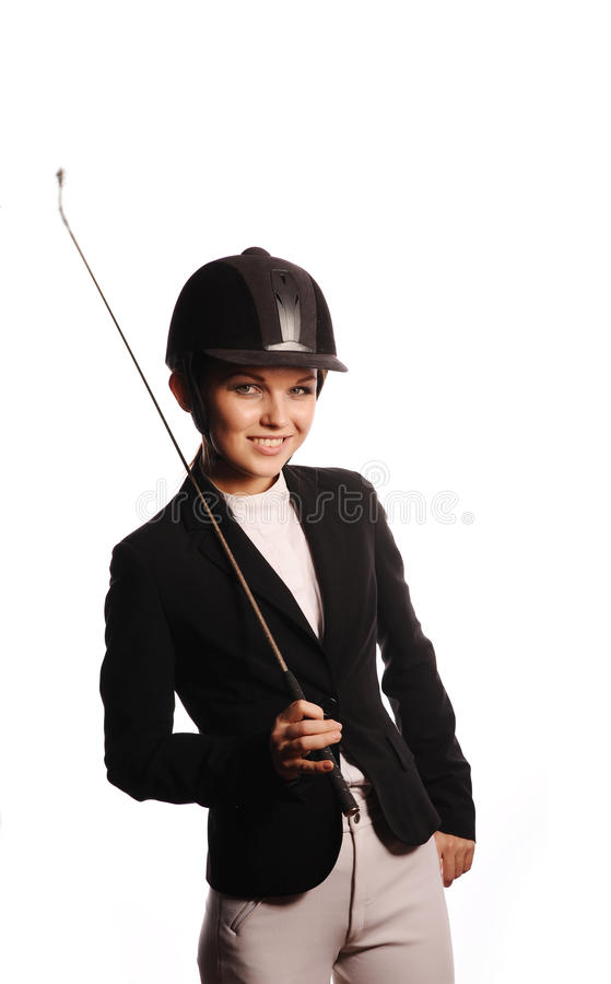 Beauty strict jockey