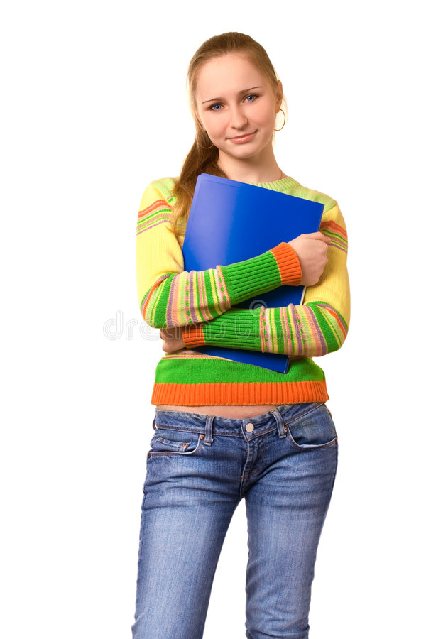 Beauty student royalty free stock image