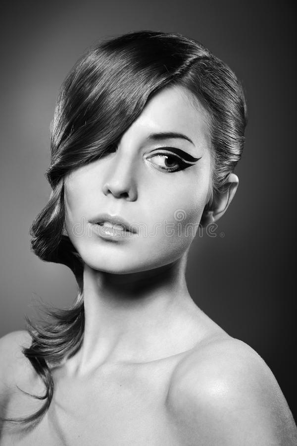 Beauty style royalty free stock image