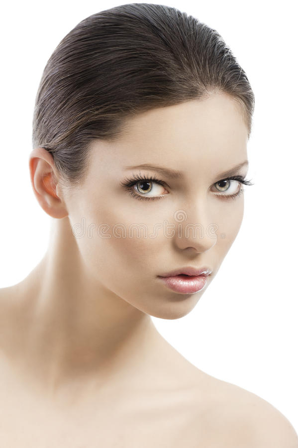 Download Beauty Style Face Shot, She Is Turned Stock Photo - Image: 22637548