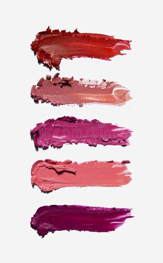 Beauty swatches. royalty free stock photos