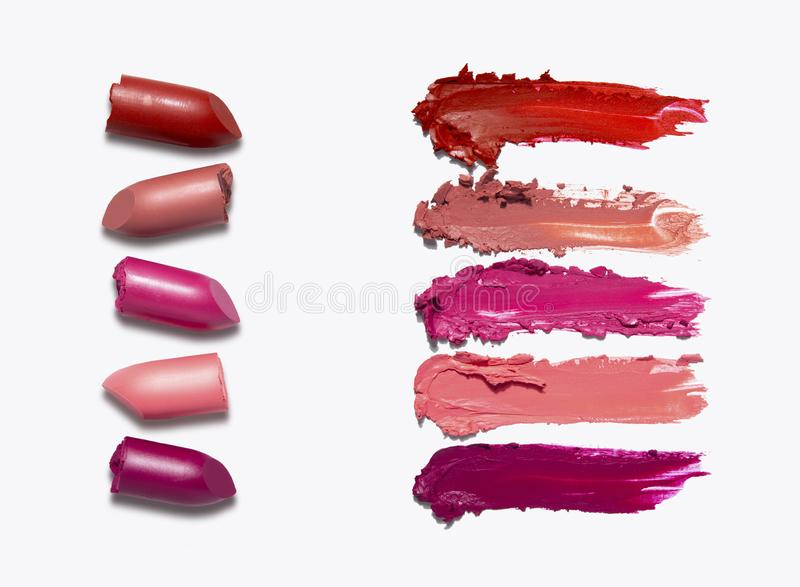 Beauty swatches. royalty free stock image
