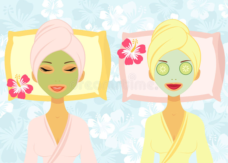 Download Beauty treatment stock vector. Image of cartoon, salon - 24892166