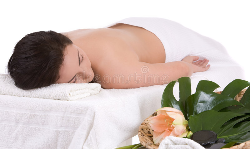 Beauty treatment royalty free stock photography