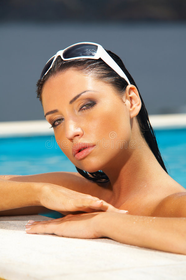 Beauty on Vacations stock photos