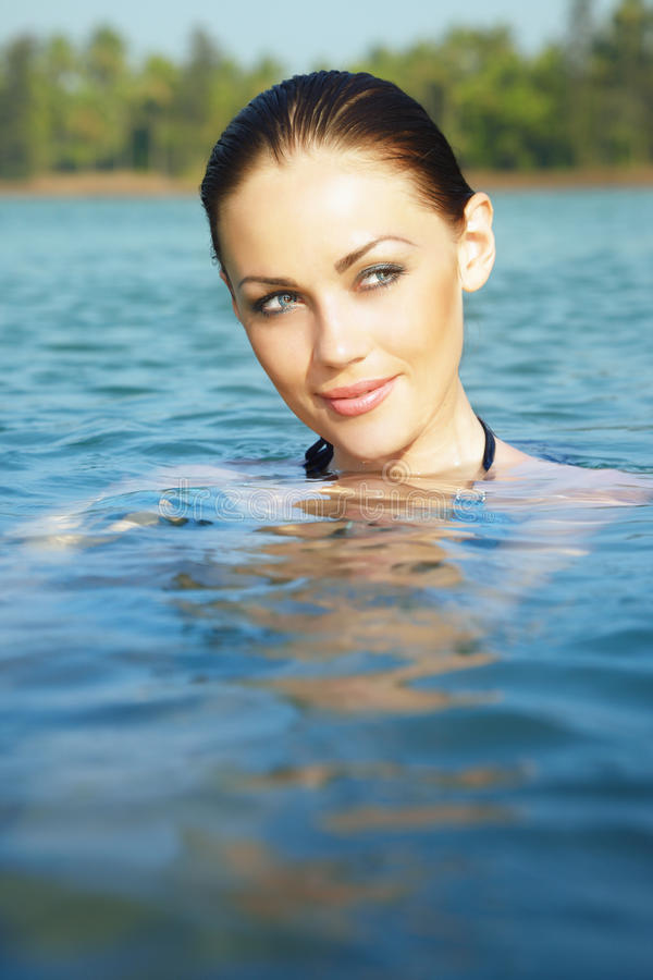 Beauty In The Water Stock Photo