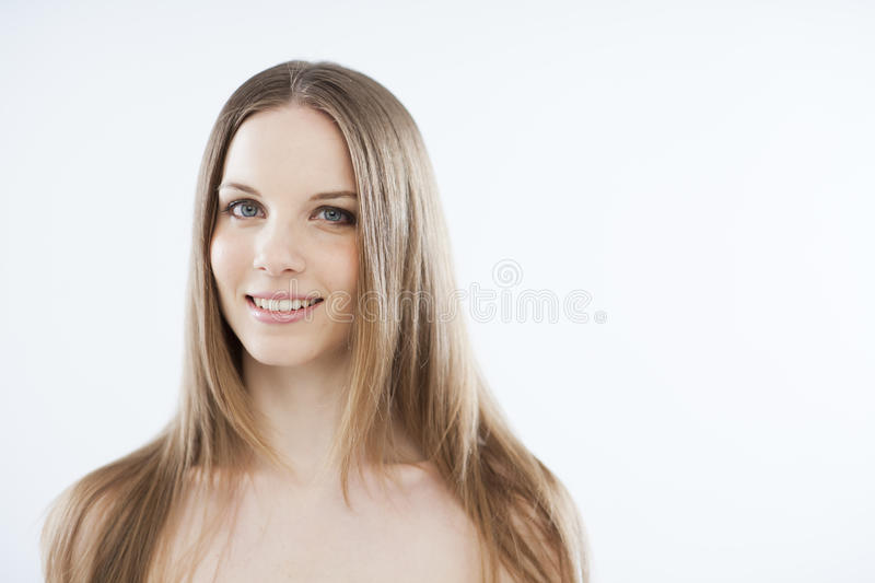 Beauty On White Royalty Free Stock Images