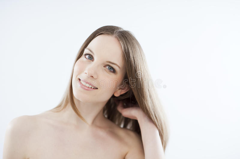 Download Beauty on white stock image. Image of shot, color, long - 26078475