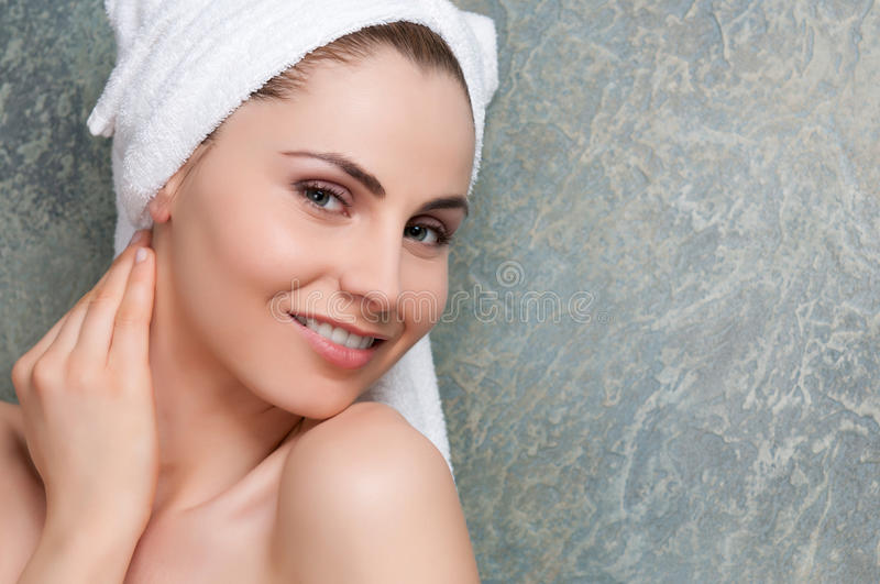 Download Beauty woman stock image. Image of background, portrait - 24896373