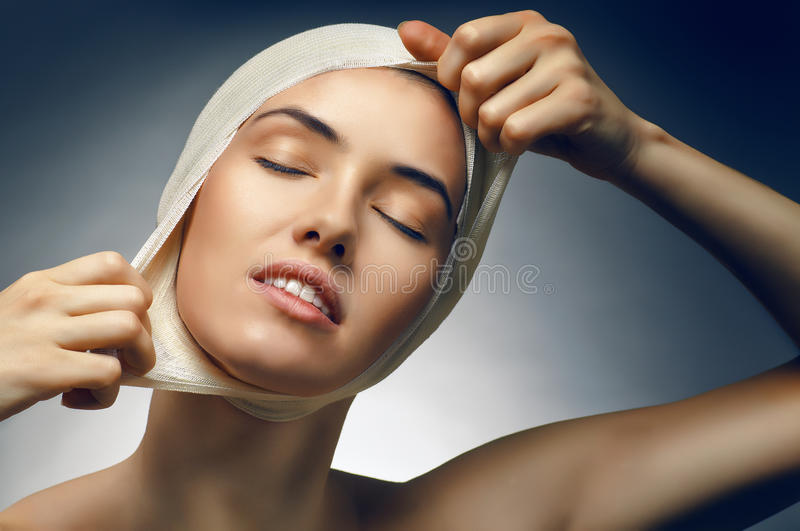 Beauty woman stock image