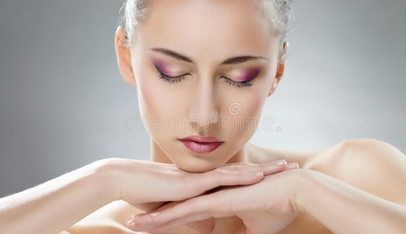 Beauty woman royalty free stock photo