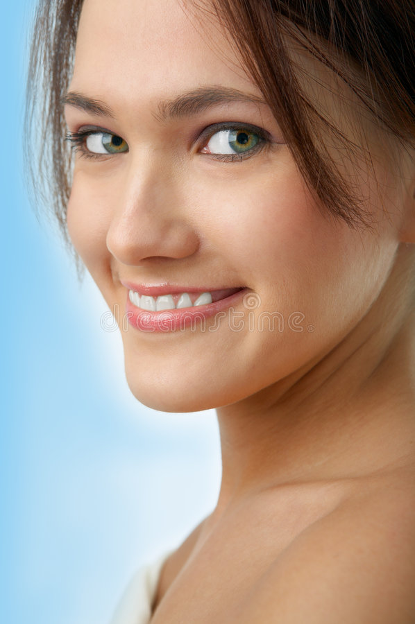 Beauty woman portrait royalty free stock photo