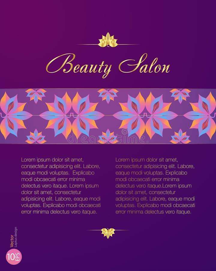 BeautyCenter_price stock de ilustración