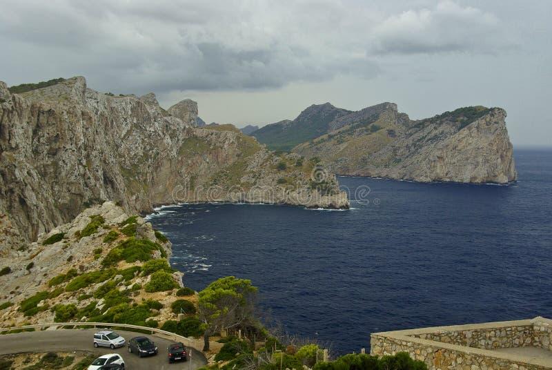 beautyful横向岩石西班牙假期 库存照片