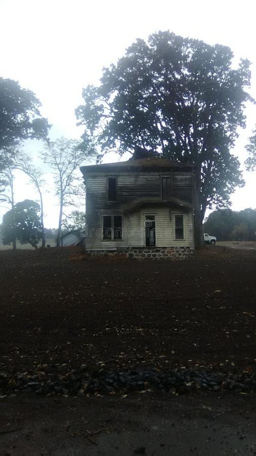 Beautyful gammalt hus arkivfoton