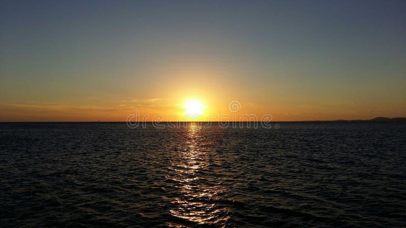 Beautyful Sunset stock photography