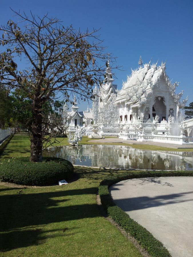 Beautyful-Tempel in Thailand stockfotografie