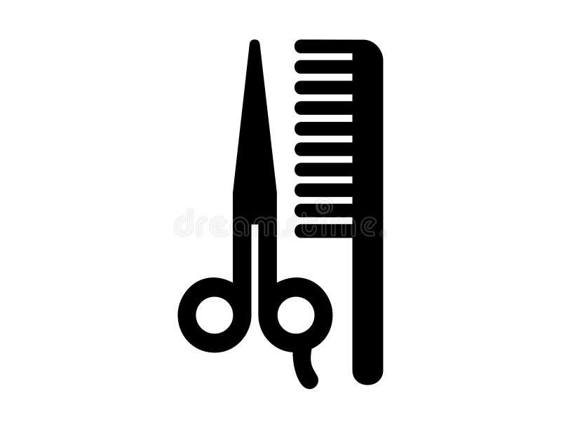Beautysalon do barbeiro ilustração do vetor