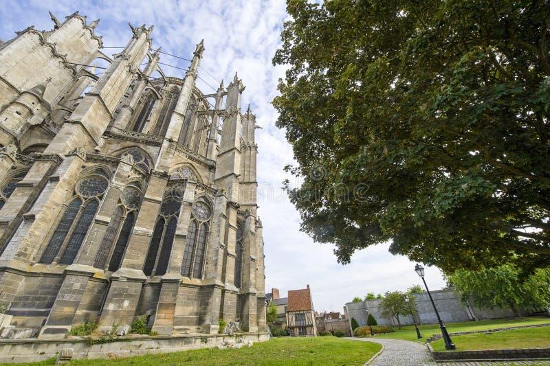 Beauvais (Picardie) - catedral foto de archivo libre de regalías