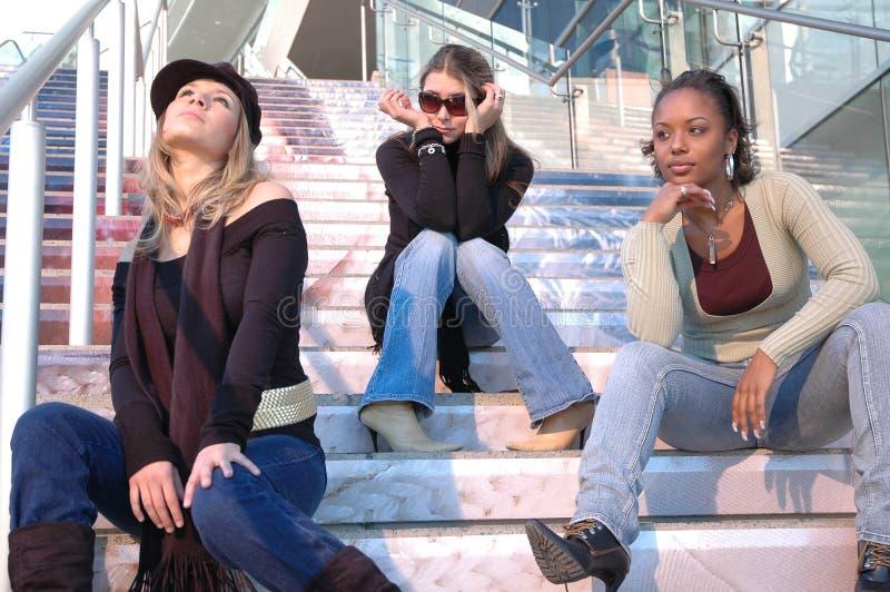 Beaux amis photographie stock libre de droits