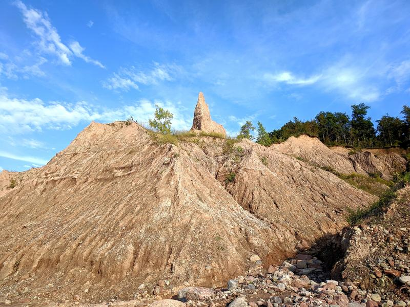 Beaux bluffs images stock