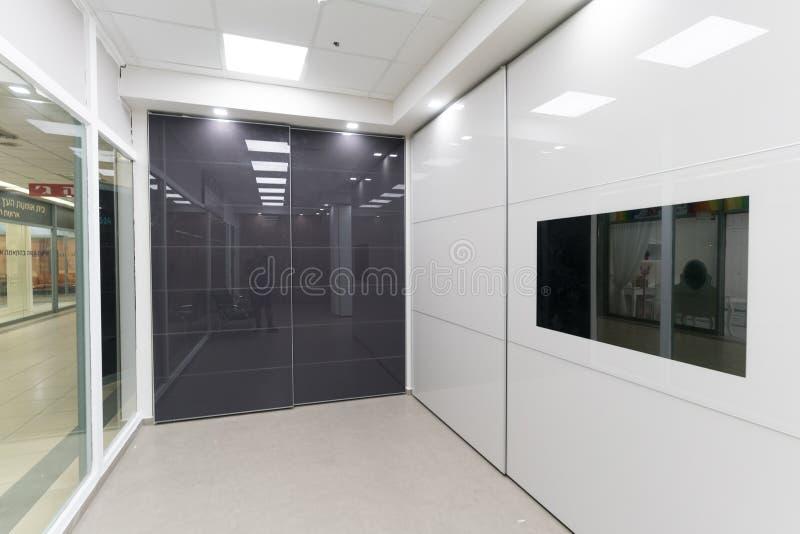 Beaux cabinets de porte coulissante photo libre de droits