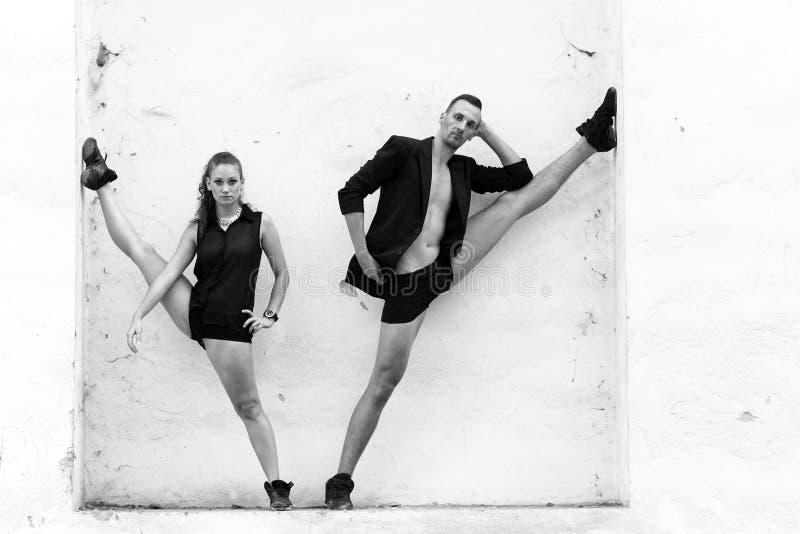Download Beaux Couples De La Danse D'artistes Professionnels Photo stock - Image du musique, amour: 45353276